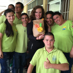 On her final day at the Fundación Servio Flores Arroyo, Slocum was given a bagful of desserts and...