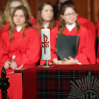 Baccalaureate with feature a message delivered by the Rev. Dr. Lewis Galloway, senior pastor of t...
