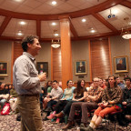 Michael Ableman delivers Monmouth College?s annual Samuel M. Thompson Memorial Lecture Tuesday ni...