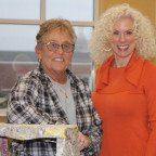 Stephanie Johnson, owner of Johnson Painting in Galesburg, and First Lady Lobie Stone have teamed...