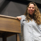 Senior Ellen Johnson of Kewanee, Ill. will be directing The Crucible. Productions will be staged ...