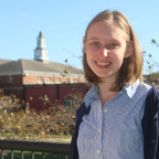 Jessica Hawkinson, Monmouth College?s new associate chaplain, is eager to begin work November 1.