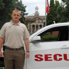 Campus Safety and Security Director Andy Davis prepares his team to handle incidents of all types.