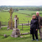 Gary Sears ?70 and his wife, Dianne, are pictured at the Rock of Cashel, a historical site in Cou...