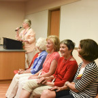Ladies from the Class of 1966 hold a panel discussion called ?Caught Between Tradition and Libera...