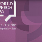 World Speech Day was celebrated on March 15, 2016.