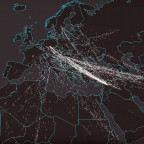 Data published by the UN Refugee Agency (UNHCR) is visualized on a map by Lucify. It helps to ill...