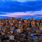 A classical View of Amman, Jordan (photo by Mahmood Salam)