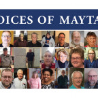 Students in Robin Johnson?s class contributed to the ?Voices of Maytag? project.