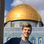 Quentin Bartram spent 10 days learning about Israel on a trip sponsored by Zeta Beta Tau and Anti...