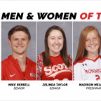 TOPS IN THEIR CLASSES: Meet the Senior and Freshmen women and men of the year.