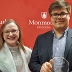 Sarah Wright was named Greek Woman of the Year, and Ben Nelson was named Greek Man of the Year.