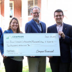 Compeer Financial?s Fund for Rural America presents a $10,000 grant for place-based agricultural ...