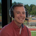 Because the COVID-19 pandemic canceled Midwest Conference sports, the broadcast team of Thomas Wi...
