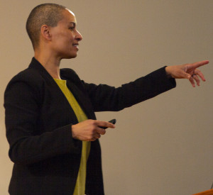 MLKD DAY CONVOCATION SPEAKER: Rebecca Ginsburg, founder of the Education Justice Project, says, ?...
