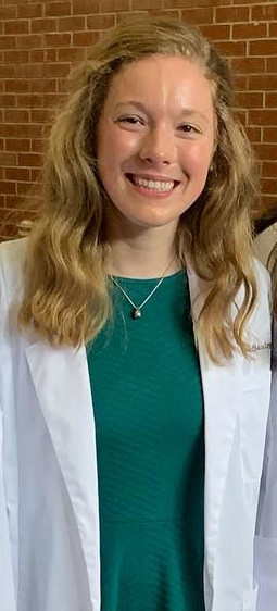 KATE SAULCY: The 2019 graduate is attending the University of Illinois College of Medicine in Roc...