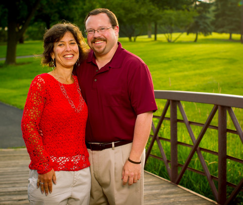 THE NAHRSTADTS: Brad '89 and his wife knew they wanted to make a gift to the campaign, and th...