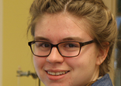Emily Currens plans to attend graduate school in medicinal chemistry at either St. Louis Universi...
