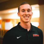 Physical Education major Joshua Gross (MC ?20) is teaching elementary physical education in Bloom...
