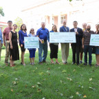 Compeer Financial donated $10,000 to support rural initiatives at Monmouth College.