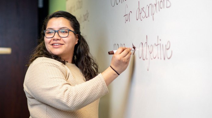 Lillybeth Mendez '18 is a Spanish teacher at Farmington (Illinois) High School.