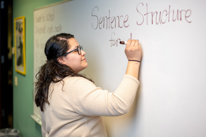 Lillybeth Mendez '18 participated in Chicago Semester. She is now a Spanish teacher at Farmin...