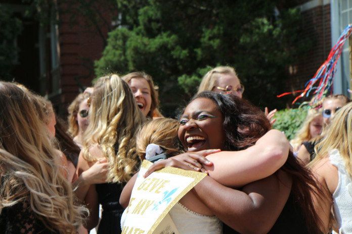 Sorority bid day is one of the best days!