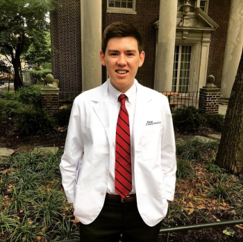 Saxon Day '18 is a student at the University of Pennsylvania School of Dental Medicine.