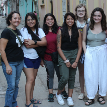 Havana! Our students headed to Cuba while on their Monmouth in Merida adventures.