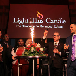 ?Light this Candle? was given a literal meaning at the campaign launch as the College embarks on ...