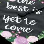 A member of the Monmouth College class of 2019 decorated their cap for graduation.