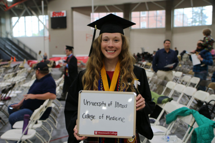 Kate Saulcy '19: ?Wackerle really helped me with mock interviews. I remember doing multiple i...